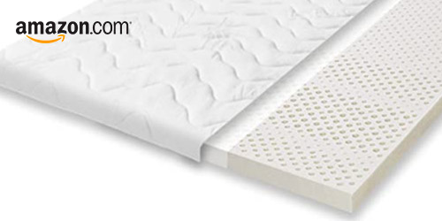 surmatelas latex amazon